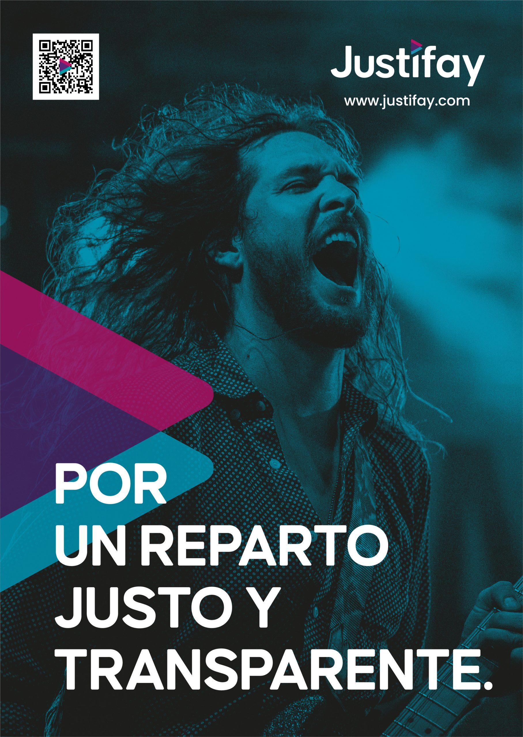 JUSTIFAY cartel A4 - Justo y Transparente 2