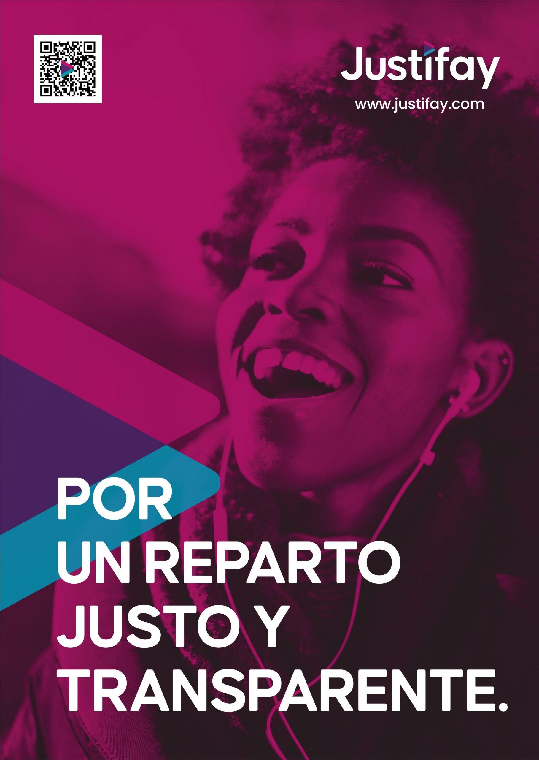 JUSTIFAY cartel A4 - Justo y Transparente